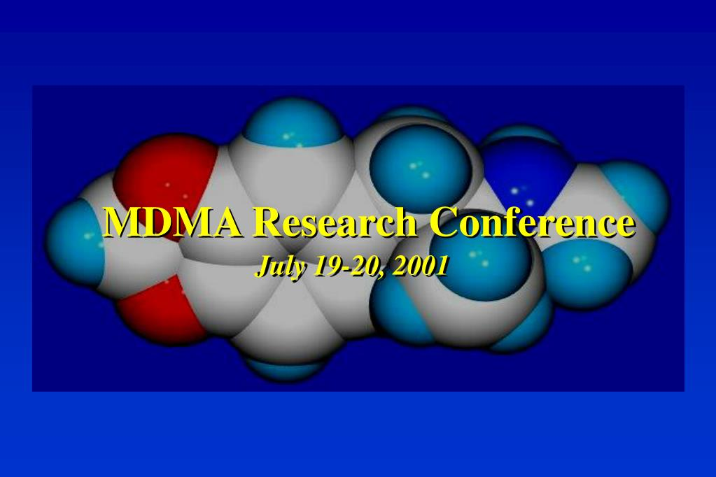 MDMA Research Conference