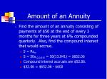 amount of an annuity39