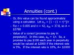 annuities cont32