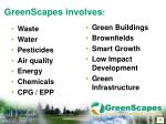 greenscapes involves