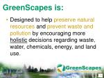greenscapes is3