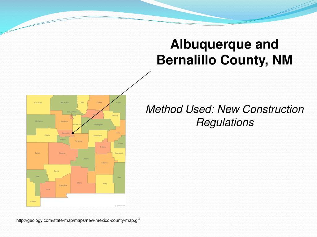 Albuquerque and Bernalillo County, NM