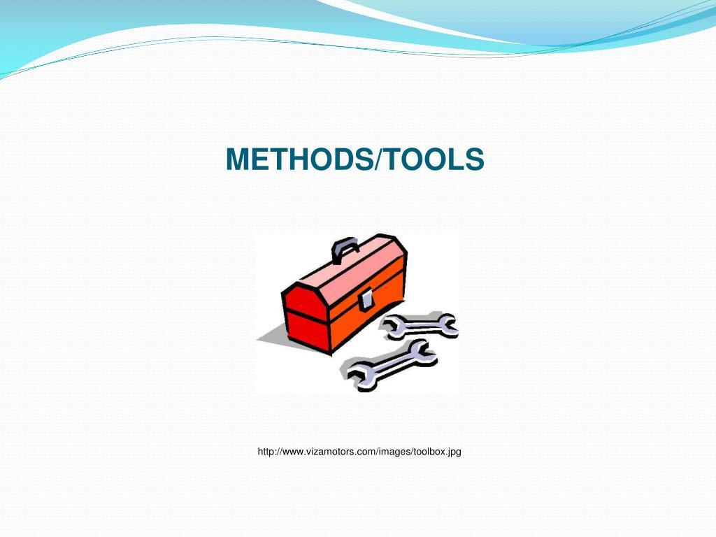 METHODS/TOOLS