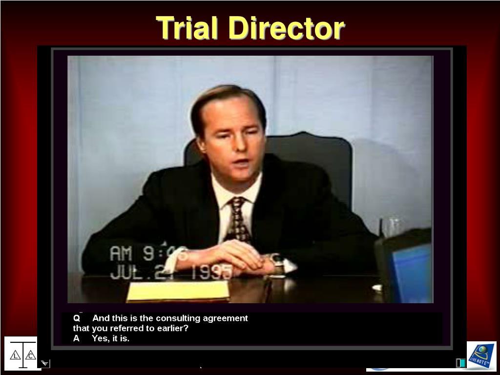 Trial Director