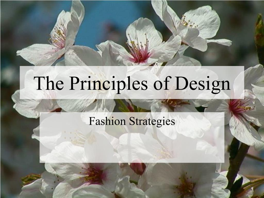 Ppt The Principles Of Design Powerpoint Presentation Free Download Id 678413