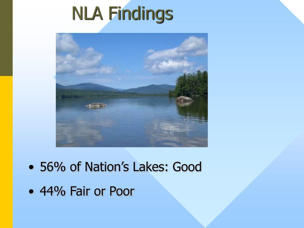 NLA Findings