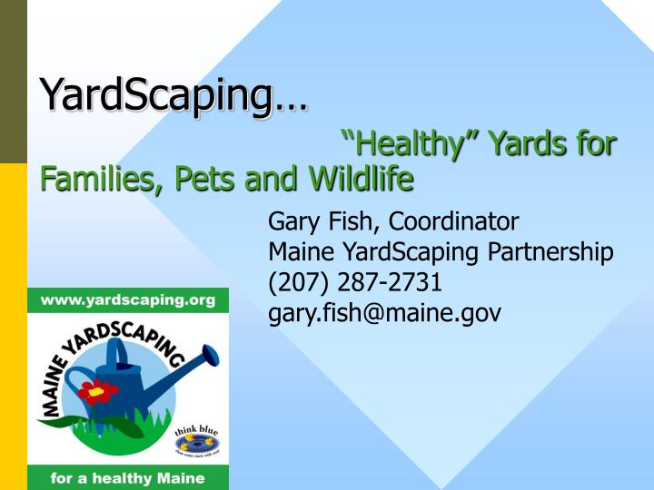 Yardscaping healthy yards for families pets and wildlife