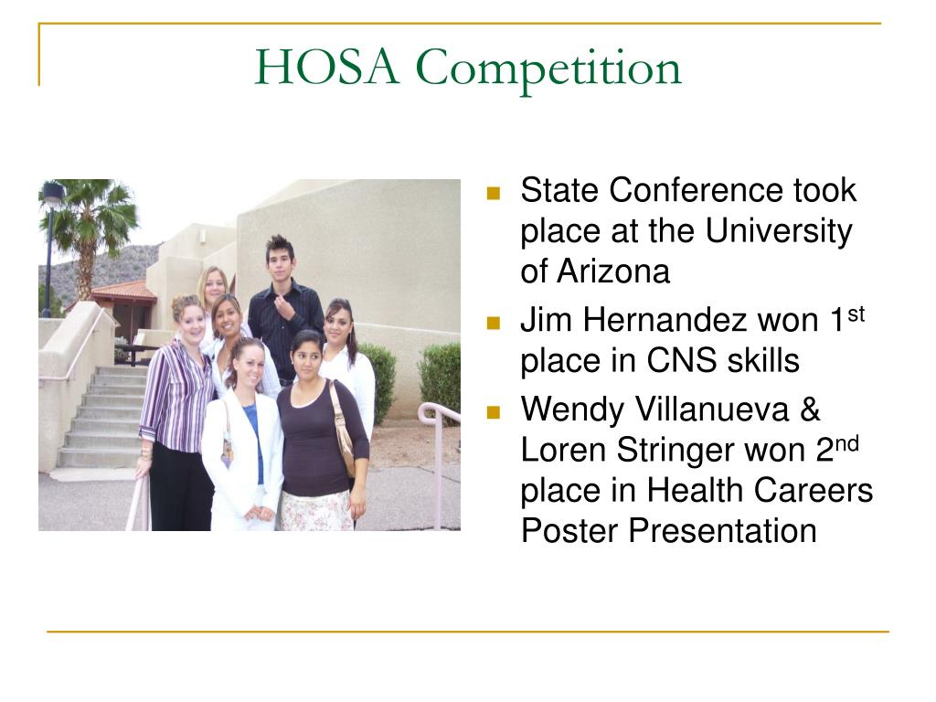 HOSA Competition