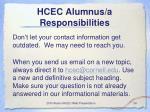 hcec alumnus a responsibilities24