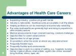advantages of health care careers9