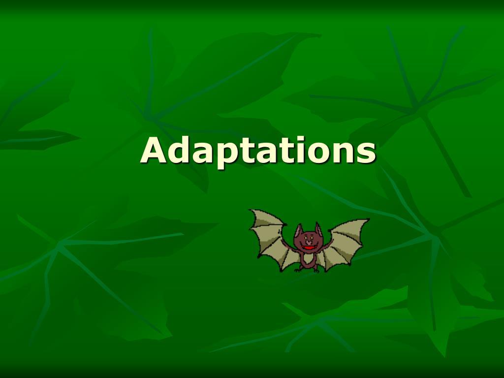 adaptations l.