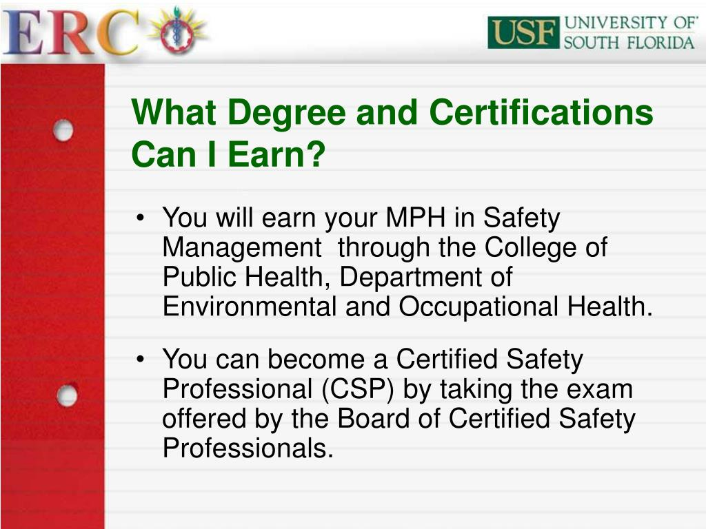 What Degree and Certifications