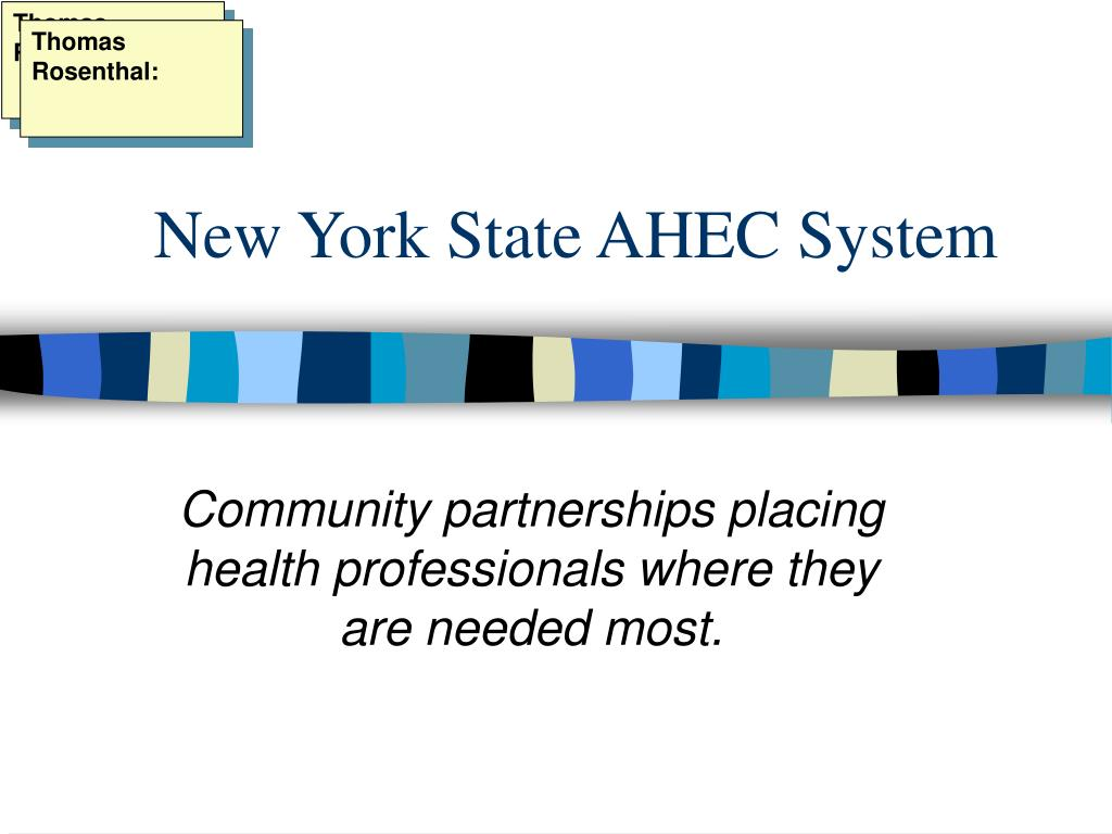 new york state ahec system l.