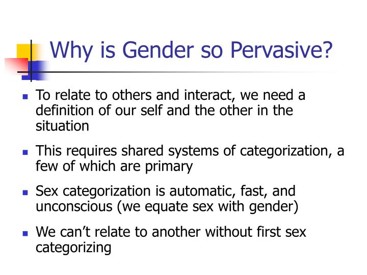 interplanetary theory of gender