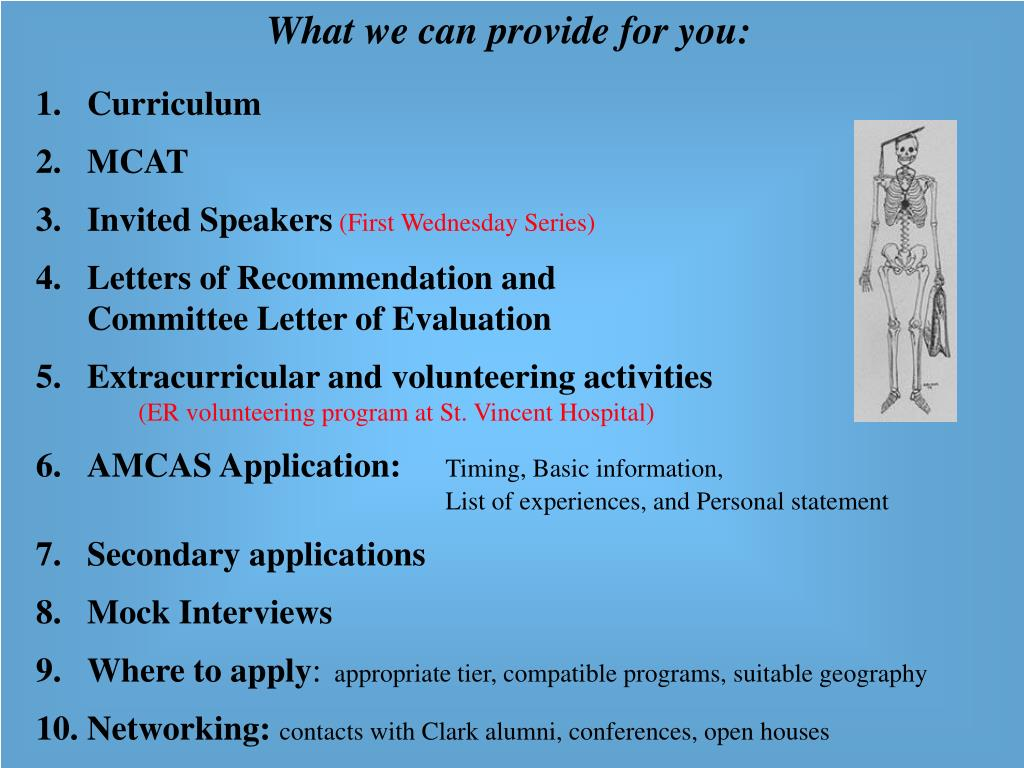 What we can provide for you: