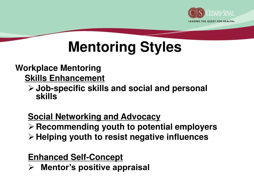 Mentoring Styles
