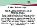 student partnerships
