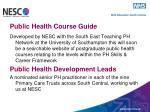 public health course guide
