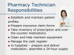 pharmacy technician responsibilities12