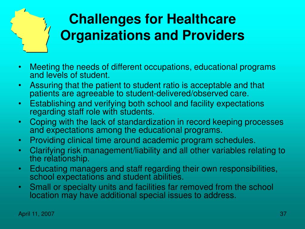 Challenges for Healthcare