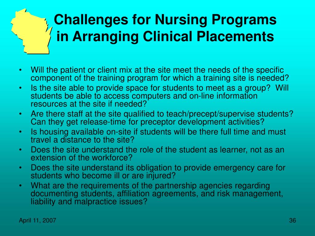 Challenges for Nursing Programs