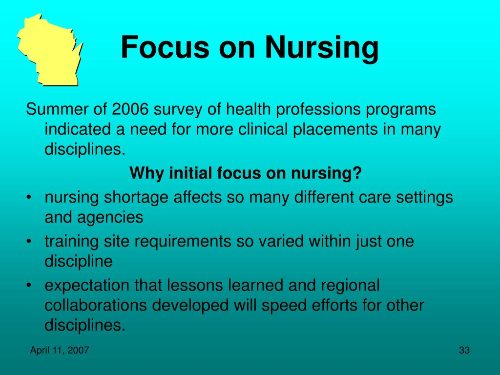 Focus on Nursing
