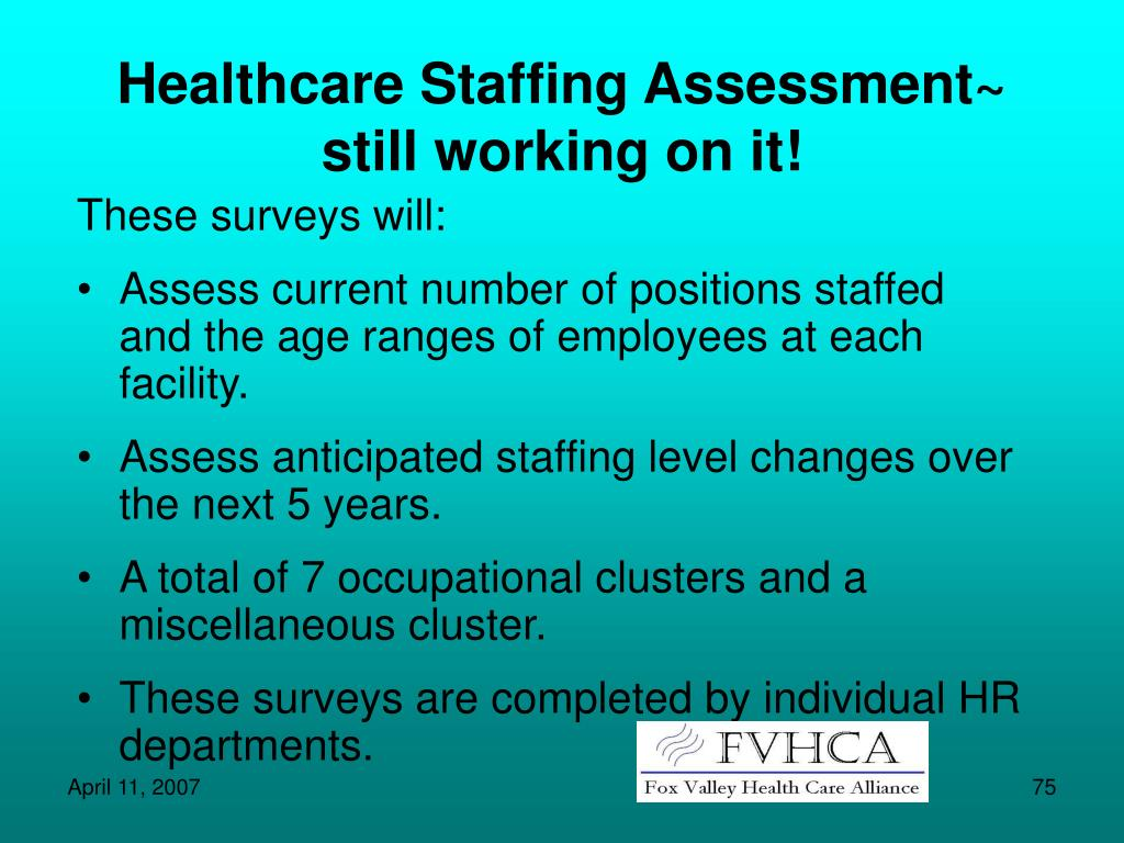 Healthcare Staffing Assessment~