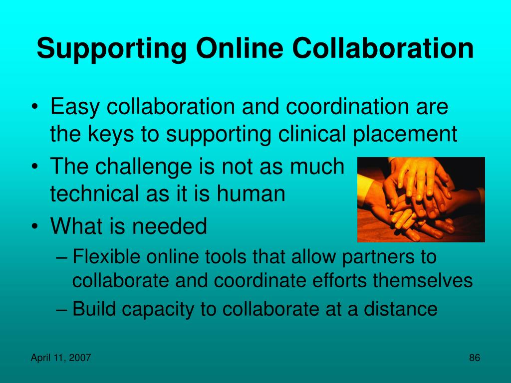 Supporting Online Collaboration