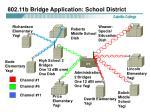 802 11b bridge application school district