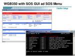 wgb350 with sos gui ad sos menu