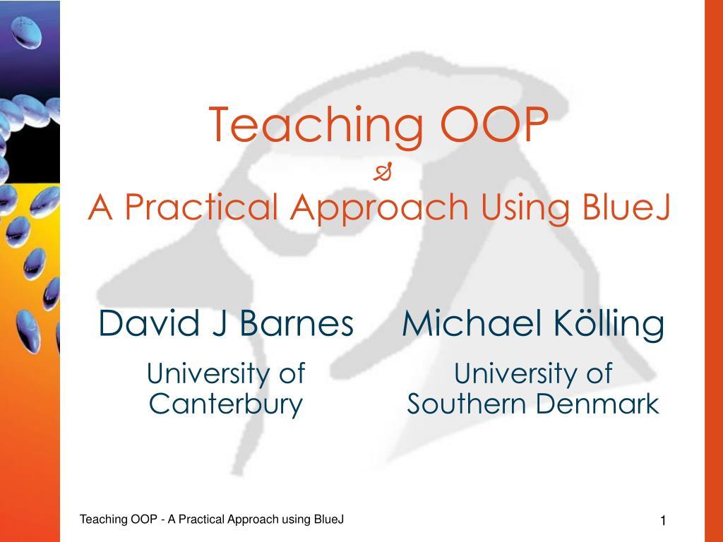 Teaching OOP