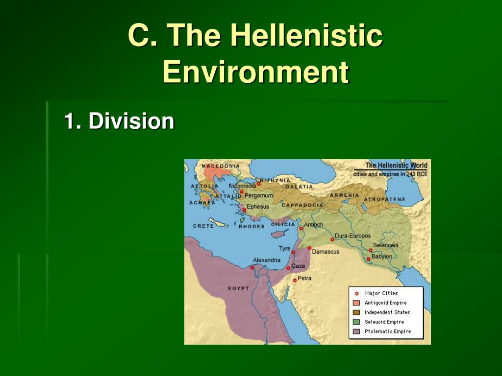 C. The Hellenistic Environment