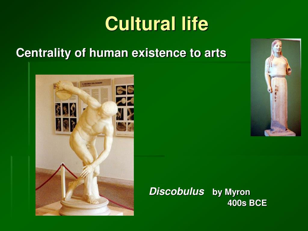 Cultural life