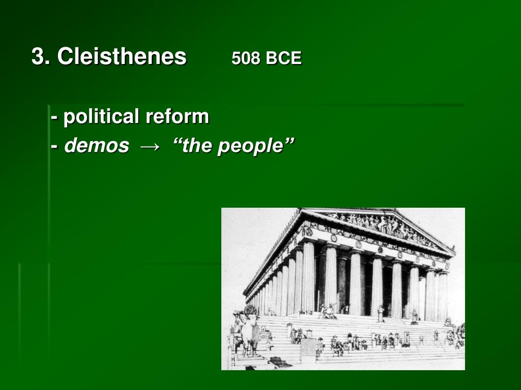 3. Cleisthenes