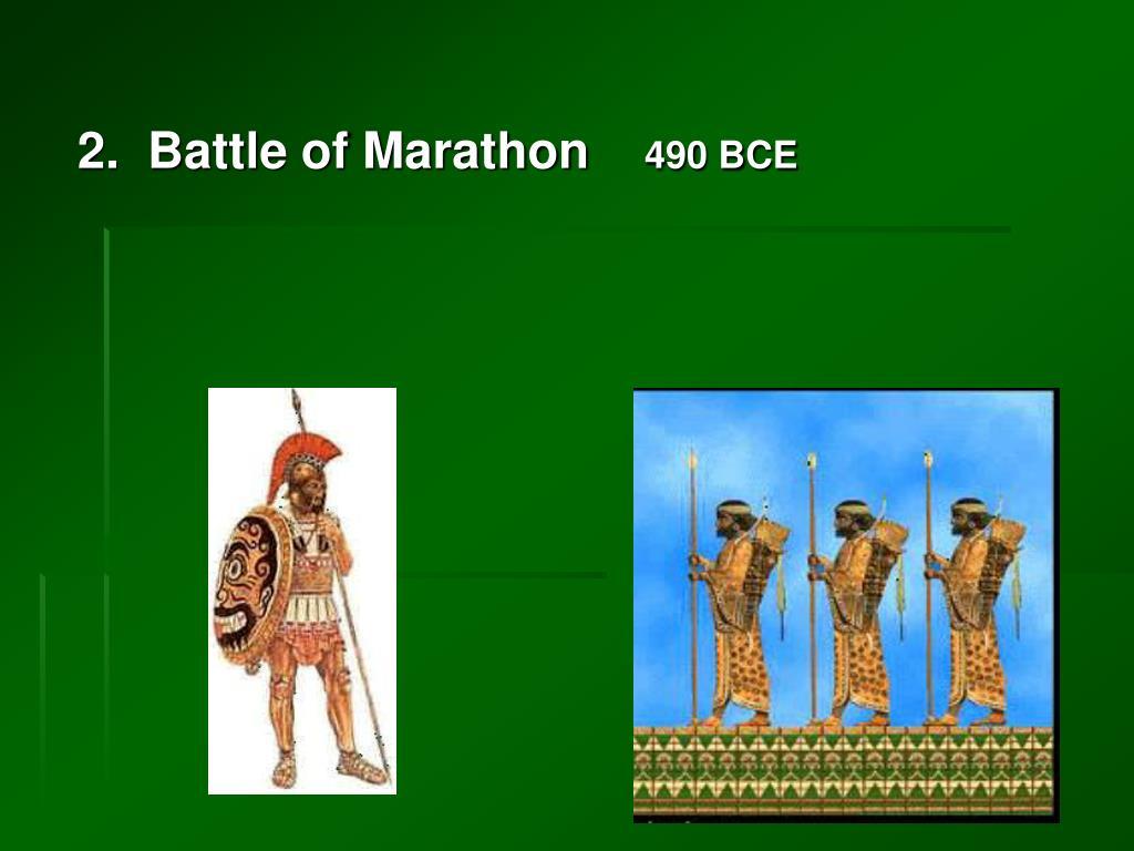 2.  Battle of Marathon
