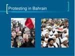 protesting in bahrain