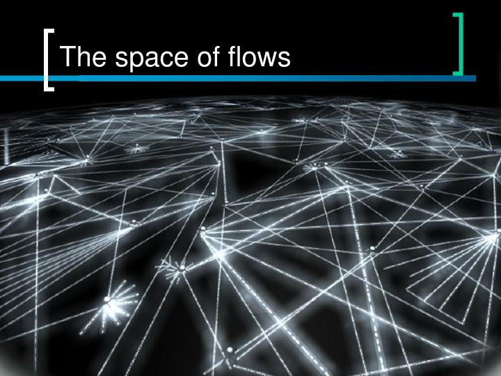 The space of flows