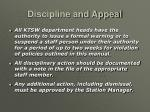 discipline and appeal70