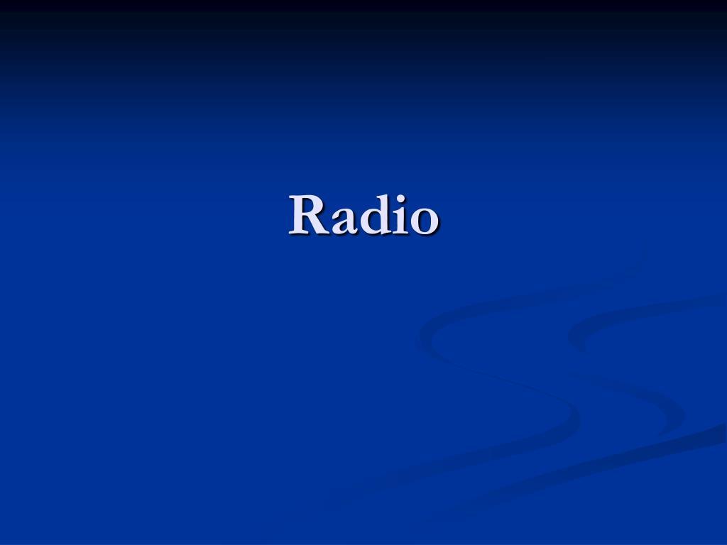 radio l.