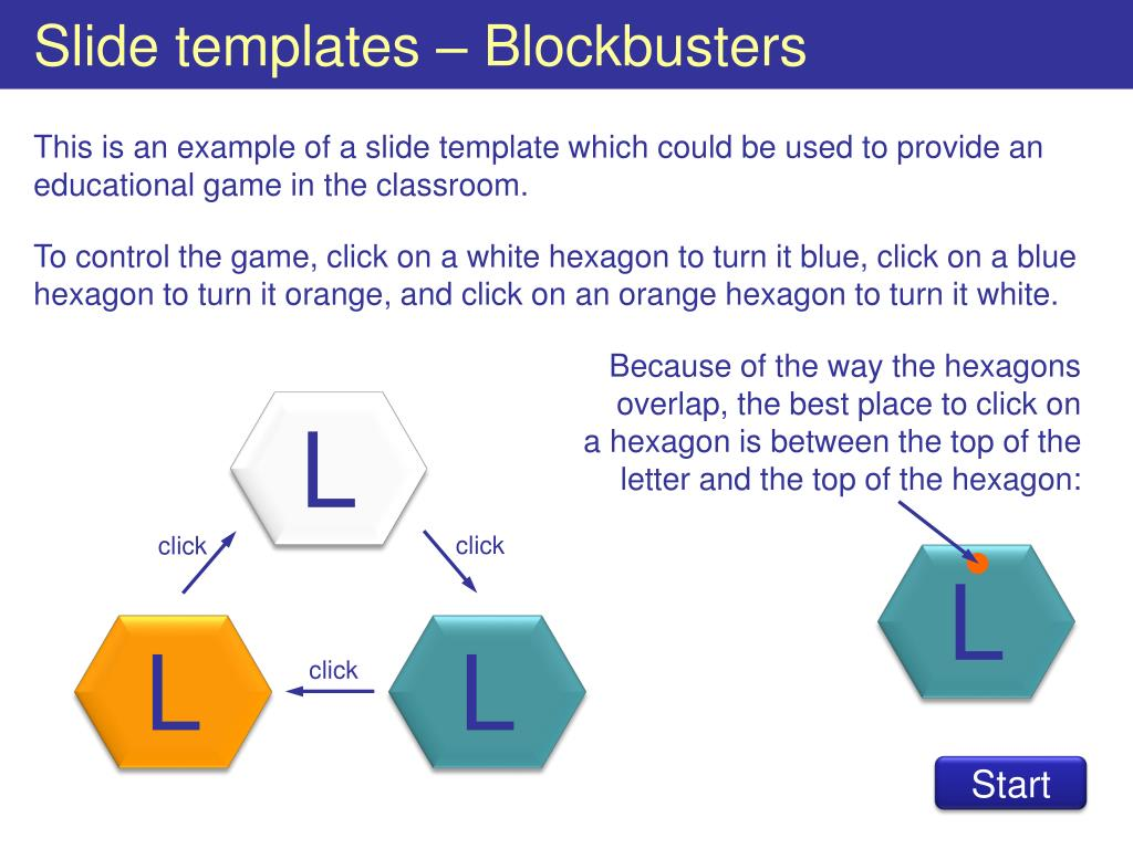 Slide Templates Blockbusters L