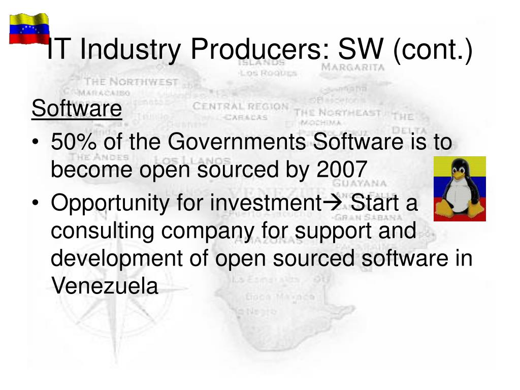 IT Industry Producers: SW (cont.)