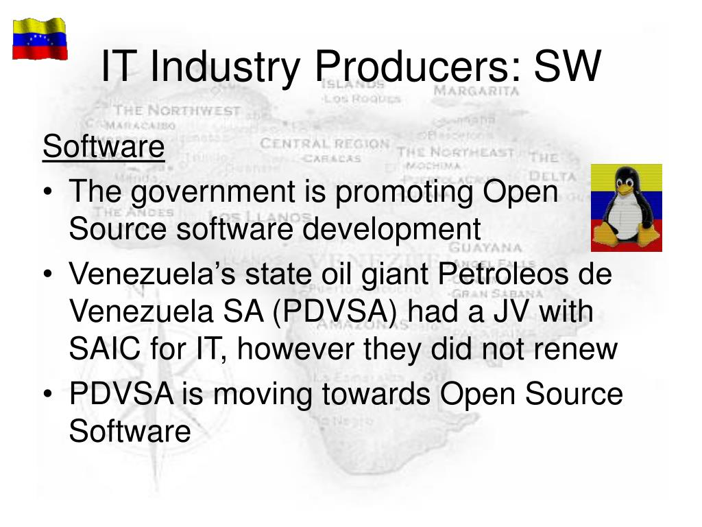 IT Industry Producers: SW