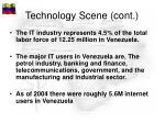 technology scene cont