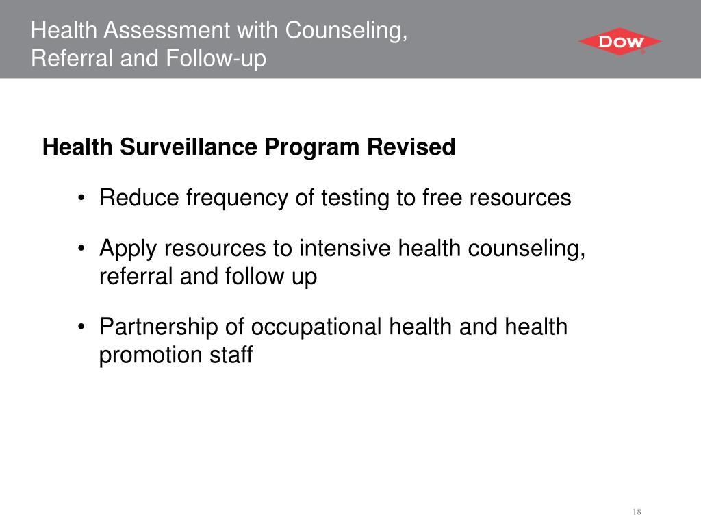 Health Assessment with Counseling,