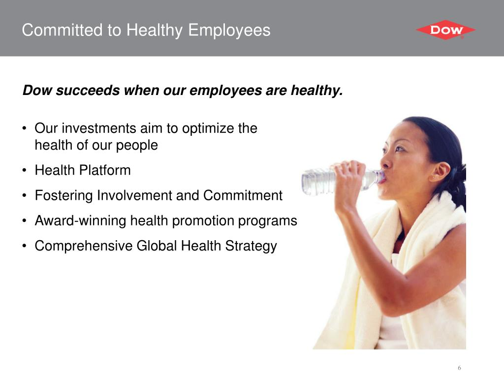 Committed to Healthy Employees