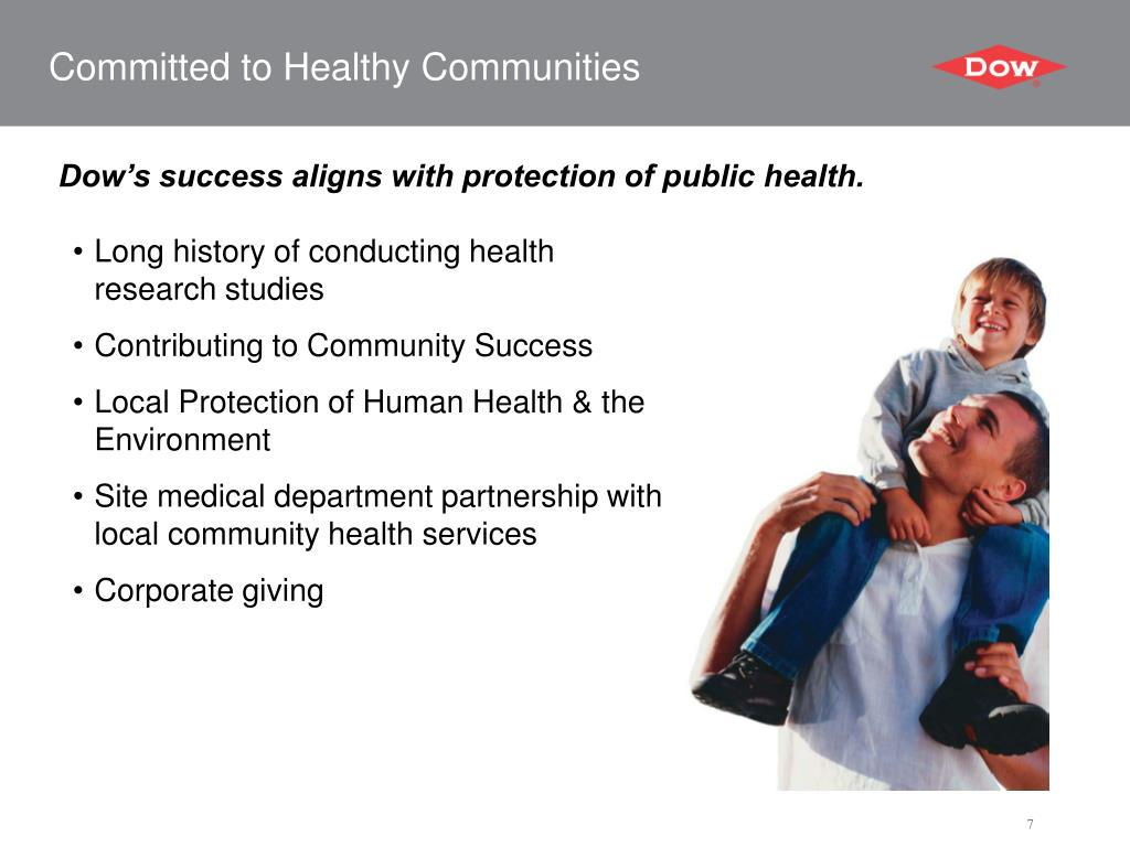 Committed to Healthy Communities