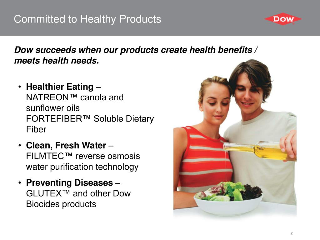Committed to Healthy Products
