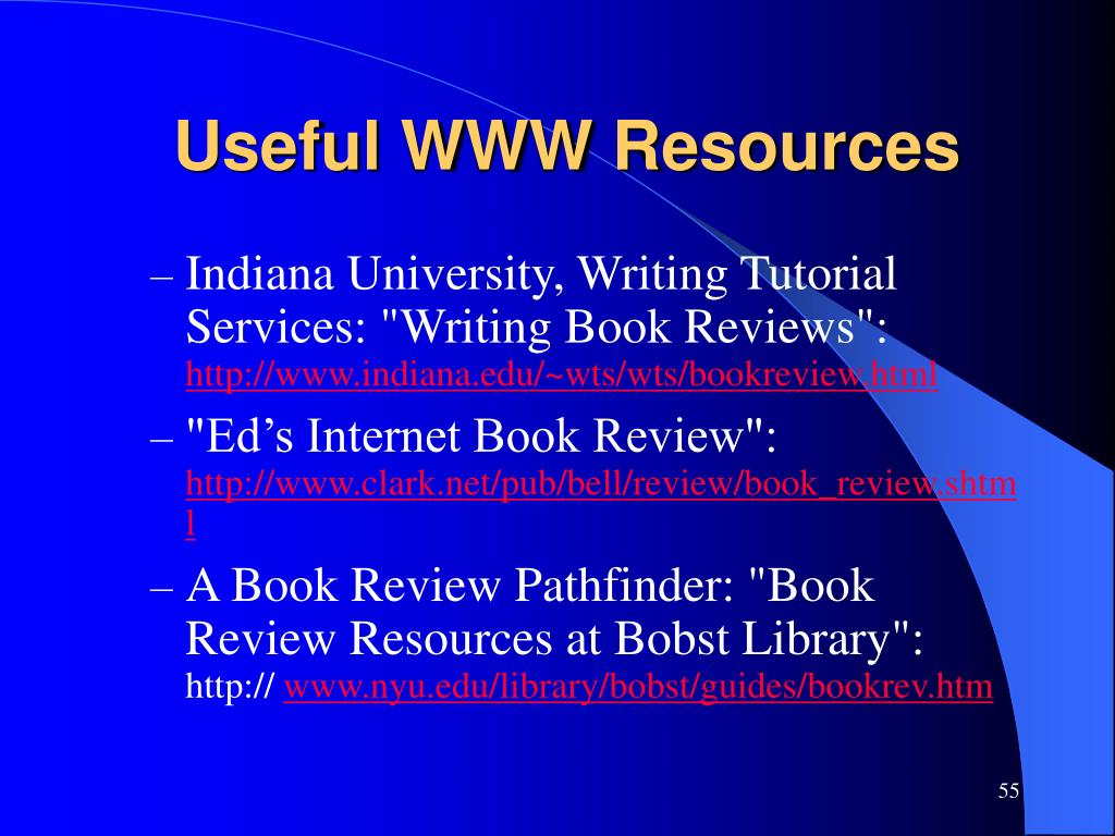 Useful WWW Resources