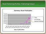book publishing profiles publishing output16