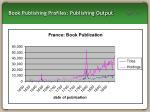 book publishing profiles publishing output17